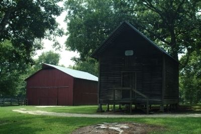 The Barn and the Corn Crib image. Click for full size.