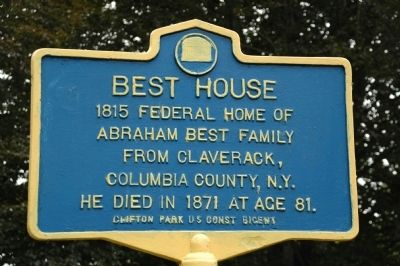 Best House Marker image. Click for full size.