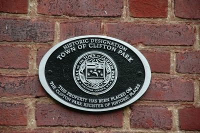 Best House Clifton Park Historic Designation Marker image. Click for full size.