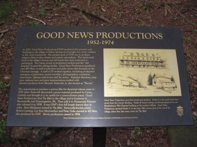 Good News Productions Marker image. Click for full size.