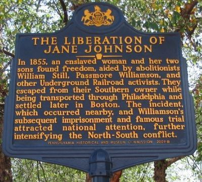 The Liberation of Jane Johnson Marker image. Click for full size.