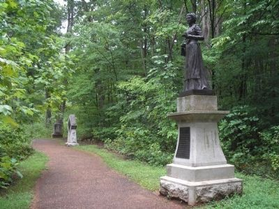 Marker in Guilford Courthouse NMP Photo, Click for full size