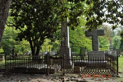Cemetery (that surrounds) ST Paul's Episcopal Church Photo, Click for full size