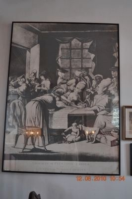 Edenton's Tea Party (picture is hanging inside home) image. Click for full size.