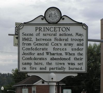 Princeton Marker image. Click for full size.