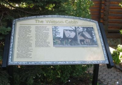 The Watson Cabin Marker image. Click for full size.