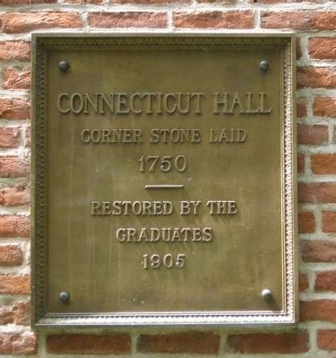 Connecticut Hall Marker image. Click for full size.