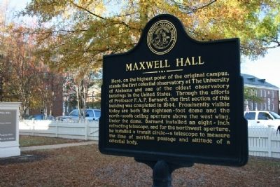 Maxwell Hall Marker Side A Photo, Click for full size