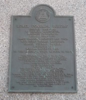 Lower Pontabla Building Marker image. Click for full size.