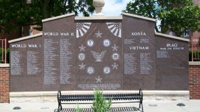 Independence Veterans Memorial image. Click for full size.