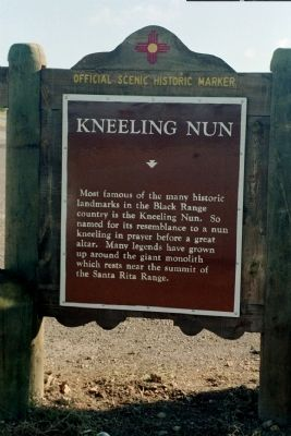 Kneeling Nun Marker image. Click for full size.