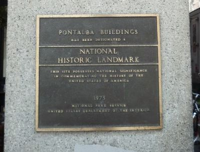 """Pontalba Buildings"" National Historic Landmark image. Click for full size."