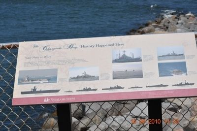 The Chesapeake Bay : History Happened Here Marker image. Click for full size.