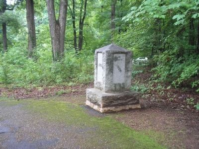 Marker in Guilford Courthouse NMP image. Click for full size.