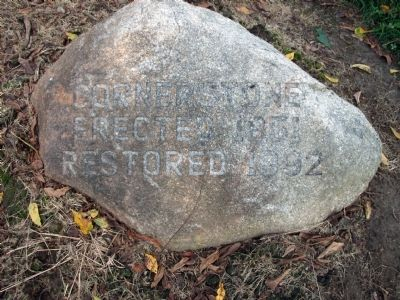 Foundation Stone (at the Marker Base) Photo, Click for full size