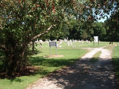 "Entrance - ""Farmers Institute Cemetery"" Photo, Click for full size"