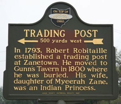 Trading Post Marker image. Click for full size.