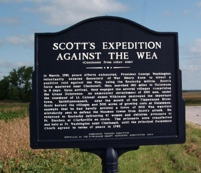 Side 'B' - - Scott's Expedition Marker image. Click for full size.