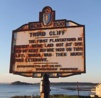 Third Cliff Marker image. Click for full size.