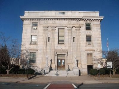 Alamance County Courthouse - The West Side Photo, Click for full size