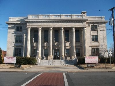 Alamance County Courthouse - The South Side Photo, Click for full size