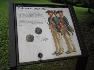 Delaware Continentals Marker image. Click for full size.