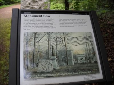 Monument Row Marker image. Click for full size.