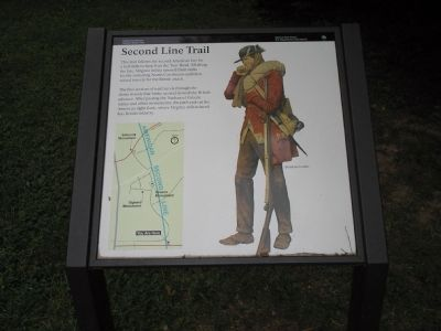 Second Line Trail Marker image. Click for full size.