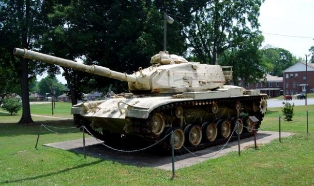 M-60 A3 Main Battle Tank and Marker image. Click for full size.