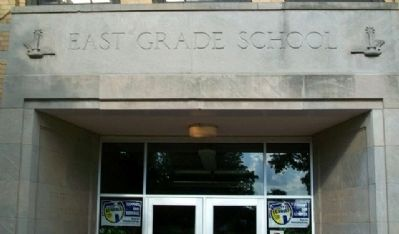 East School Entrance image. Click for full size.