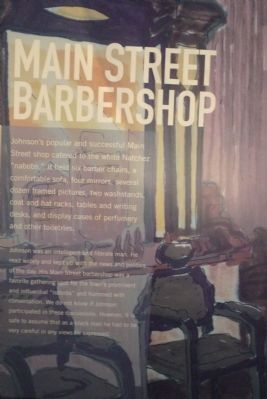 """Main Street Barbershop"" image. Click for full size."