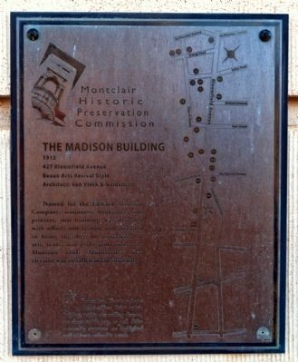 Madison Building Marker image. Click for full size.