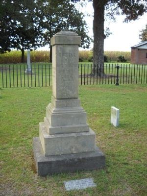 Battle of Averasboro Monument image. Click for full size.