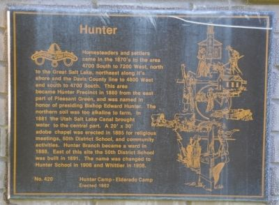 Hunter Marker image. Click for full size.