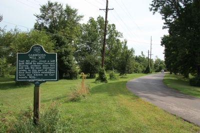 Home of John Garwood / Garwoods Mill Site Marker Photo, Click for full size