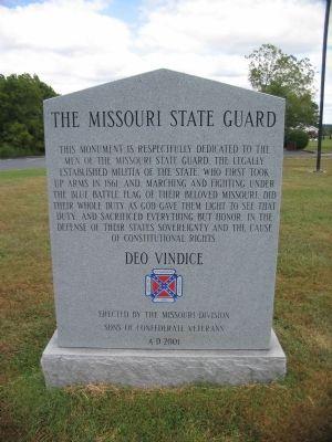 Missouri State Guard image, Click for more information