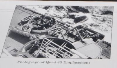 Photograph of Quad 40 Emplacement image. Click for full size.