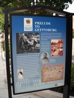 Prelude to Gettysburg Marker Photo, Click for full size