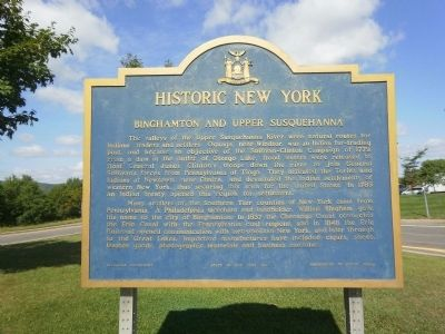 Historic New York Marker Photo, Click for full size