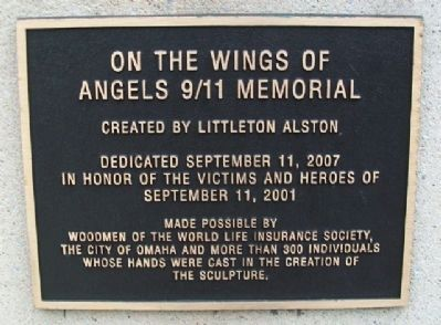 On The Wings of Angels Marker 9/11 Memorial image. Click for full size.