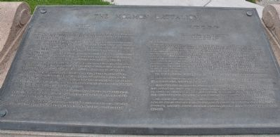 The Mormon Battalion Marker Photo, Click for full size