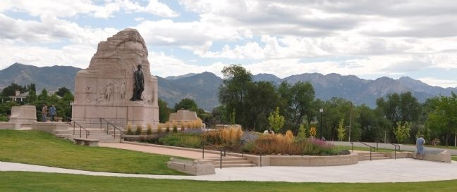 The Mormon Battalion Monument Photo, Click for full size