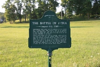The Battle of Piqua Marker Photo, Click for full size
