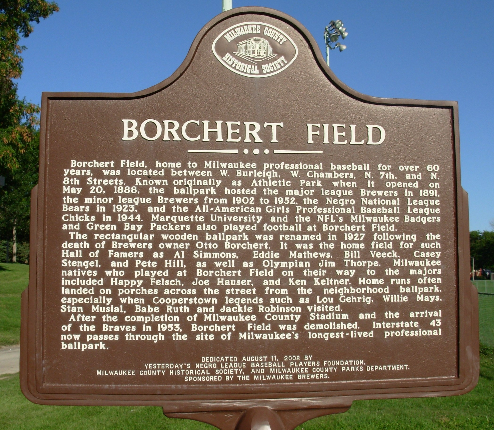 Borchert Field Marker