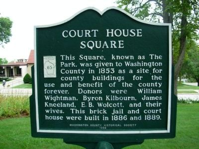 Court House Square Marker image. Click for full size.