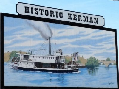 Historic Kerman mural by Claudia Fisher image. Click for full size.