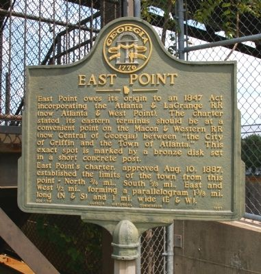 East Point Marker image. Click for full size.