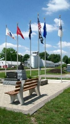 VFW Post 3496 Veterans Memorial image. Click for full size.