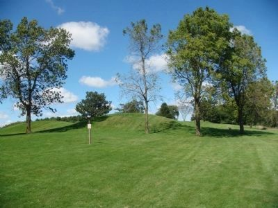 Aztalan Mounds Photo, Click for full size