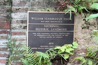William Scarbrough House National Historic Landmark Photo, Click for full size